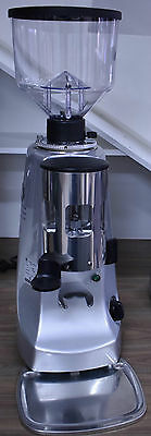 Brand New - Commercial Coffee Grinder - Mazzer Robur Automatic Silver