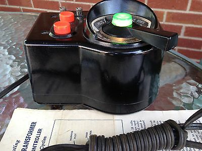 Lionel LW transformer Great Condition, Fully Tested Good 125 Watts, Instructions