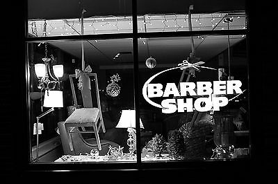Wall Room Decor Art Vinyl Sticker Mural Decal Barber Shop Logo Sign Tools SA037