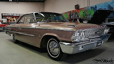 1963 1/2 Ford Galaxie XL500 352 V8 sports coupe suit Chevy Impala Fairlane