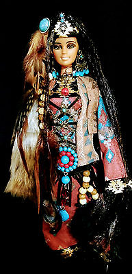 Native American Indian Beauty of the Tribe  ~Barbie doll OOAK