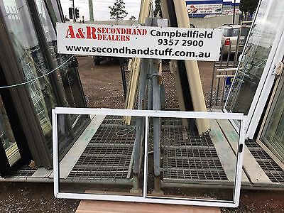 NEW Aluminium SLIDING WINDOWS 900h x 1800w (approx size) 5 COLOURS