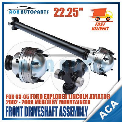 Car & Truck Universal Joints & Driveshafts New Prop Drive Shaft Front for 05-03 Ford Explorer Lincoln Aviator Mountaineer