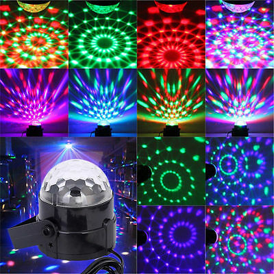 RGB DJ Light LED Stage Lighting Crystal Magic Ball Effect Bar Disco Party Laser
