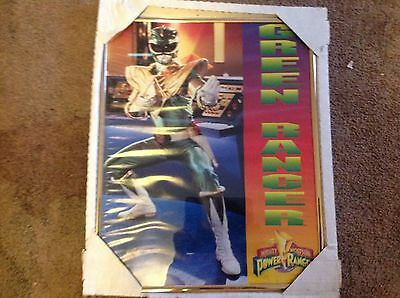 """Vintage Mighty Morphin Power Rangers Framed Poster From 1994! 16"""" x 20"""""""