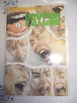 Alfred Hitchcock's Psycho #2 (of 3) covers shower scene movie Innovation FN