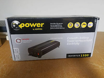 New In Box Xantrex XPower 1500 Power Inverter Model 813-1500-00