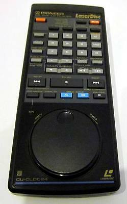 PIONEER Laser Disc Remote CU-CLD024 ~ Pioneer CD CDV LD Player Remote Control !!