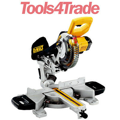 Dewalt DCS365N 18V 184mm Cordless Mitre Saw With XPS (Body Only)