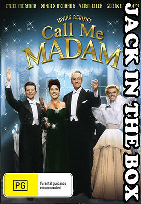 Call Me Madam DVD NEW, FREE POSTAGE WITHIN AUSTRALIA REGION ALL