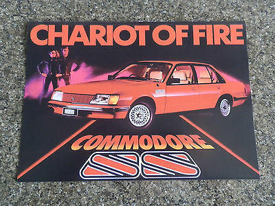 Holden Commodore 1983 Vh Ss  (Brock/hdt) Brochure.  100% Guarantee.