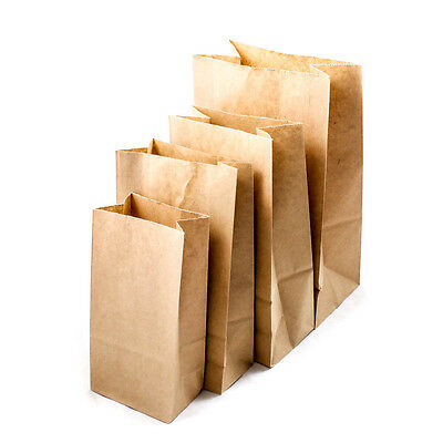 Brown Kraft Paper Bags Gift Bread Candy Wedding Party Bags High Quality A1919