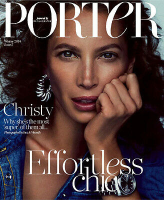 CHRISTY TURLINGTON LANDS 2 COVERS PORTER WINTER 2014 Fashion Style Magazine