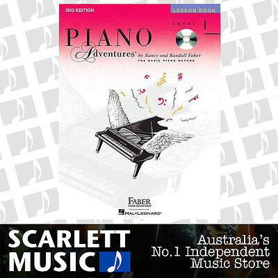 Piano Adventures 2nd Edition - Lesson Book Level 1 Faber WITH CD ( BK / CD )