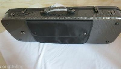 """Strong fiber glass Viola case for viola 15""""-17 inch, with music book bag"""