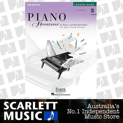 Piano Adventures 2nd Edition- Lesson Book Level 3B ( 3-B ) Faber *BRAND NEW*