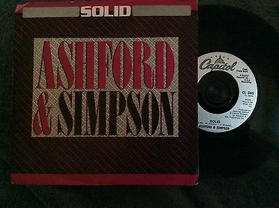 "ASHFORD and SIMPSON - Solid (UK 7"" single VINYL record"