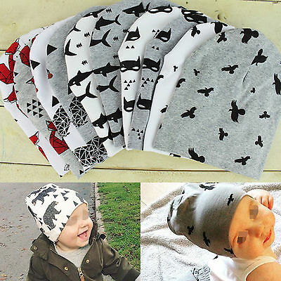 Fashion Beanie Cap Toddler Kids Girl&Boy Baby Infant Winter Warm Cute Cotton Hat