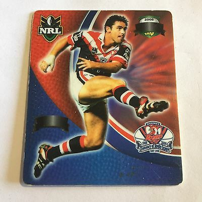 NRL Tazo Footy Legends Sydney Roosters Brad Fittler