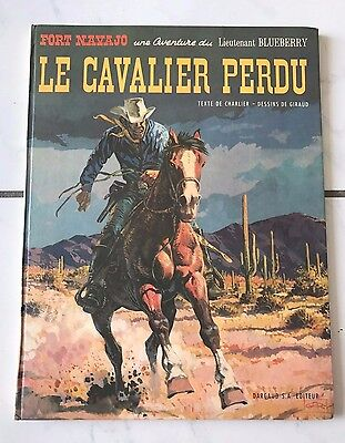 "Eo Blueberry T4 ""Le Cavalier Perdu"" - Giraud / Charlier - Dargaud 1968"