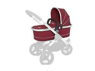 iCandy Peach Main Carrycot Cranberry NEW