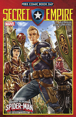 Free Comic Book Day 2017 - Secret Empire - UNSTAMPED FCBD
