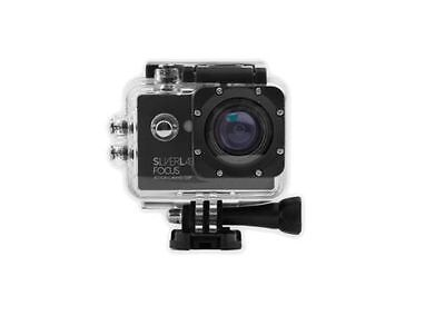Silver Label - Waterproof High Definition Focus Sports Action Camera 720p 5mp