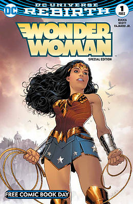 Free Comic Book Day 2017 - Wonder Woman #1 SPECIAL EDITION - UNSTAMPED FCBD