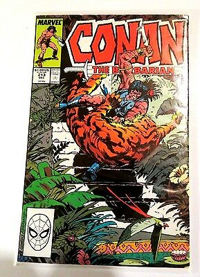 Conan The Barbarian #213 Copper Age Comic CB1230