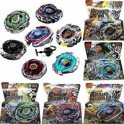 Beyblade Fusion Top Metal Fight Master 4D Rapidity Launcher Blade Set Child Toys