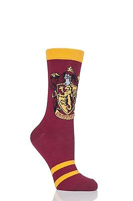Ladies 1 Pair Harry Potter House Badges Socks