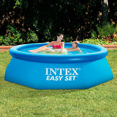 8ft Inflatable Swimming Pool Easy To Set Up Without Filter Extra Strength