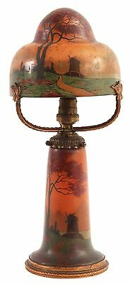 An Unusual French Art Nouveau Table Lamp