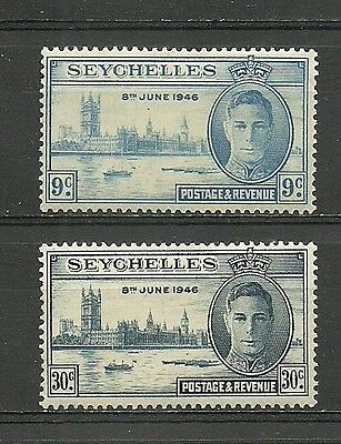 SEYCHELLES 1946. 2 new stamps*.              (3189)