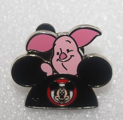 Walt Disney World WDW - 2015 Hidden Mickey - Character Ear Hat Piglet Pin 112162