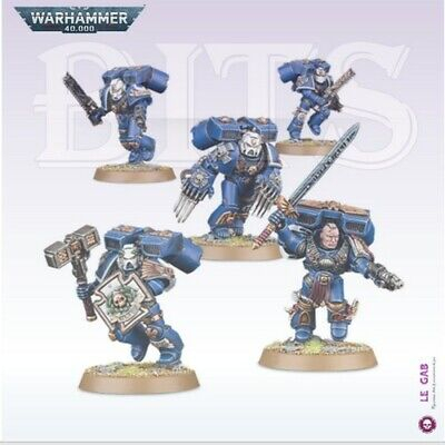 Bits Warhammer 40,000 Space Marines Vanguard Veterans D'assaut