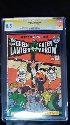 Green Lantern - Green Arrow # 89 CGC 8.5 SS Neal Adams