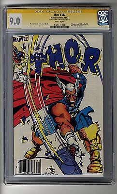 Thor # 337 - CGC 9.0 White Pages - SS Walt Simonson - First App Beta Ray Bill