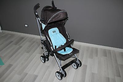 Passeggino ABC Design In Giro 2011 Acqua-Dark Brown