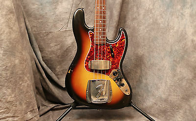 1965 Fender Jazz Bass - Sunburst - L Series - Andy Baxter Bass