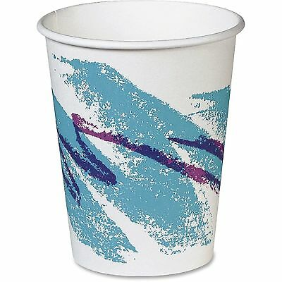 SOLO CUPS Jazz Paper Hot Cups, 10oz, Polycoated, 50/Bag, 20 Bags/Carton 370JZJ
