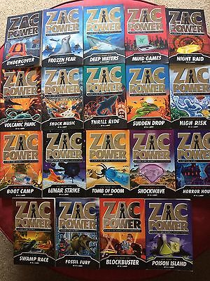 ZAC POWER x 19 Books  *AS NEW*