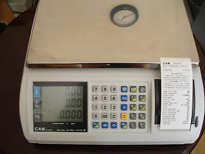 Brand New Electronic Thermal Printer Scale With Character Printing
