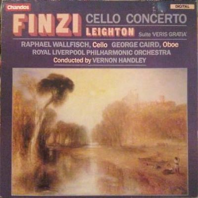 Finzi: Cello Concerto / Leighton: Suite 'Veris Gratia' : Wallfisch and Caird
