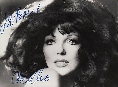 "JOAN COLLINS  - 5.5"" x 4"" Portrait Photograph PERSONALLY SIGNED To BRUCE  F#21"