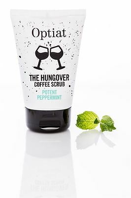 Optiat Potent Peppermint Coffee Scrub - 90g