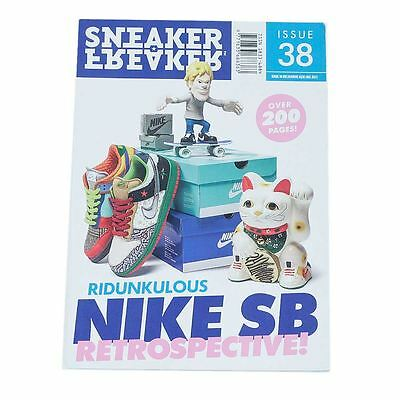 Sneaker Freaker Magazine Issue 38 Ridunkulous Nike Sb Retrospective New