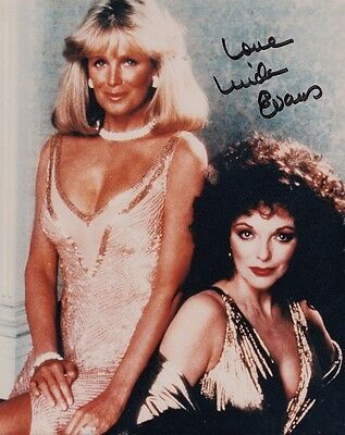 "LINDA EVANS - DYNASTY - 10"" x 8"" Photo PERSONALLY SIGNED & UNDEDICATED  F#21"