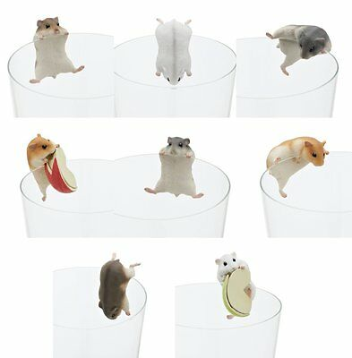 HAMSTER PUTITTO SERIES Animals Pet Figure Doll Gacha Kizakan Club 8 Set Kawaii
