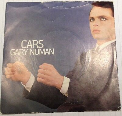 Gary Numan, Cars 7 inch vinyl in picture sleeve, 1979
